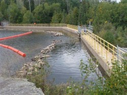 Ramsey Lake Dam No. 7 (Chapleau MNR District)