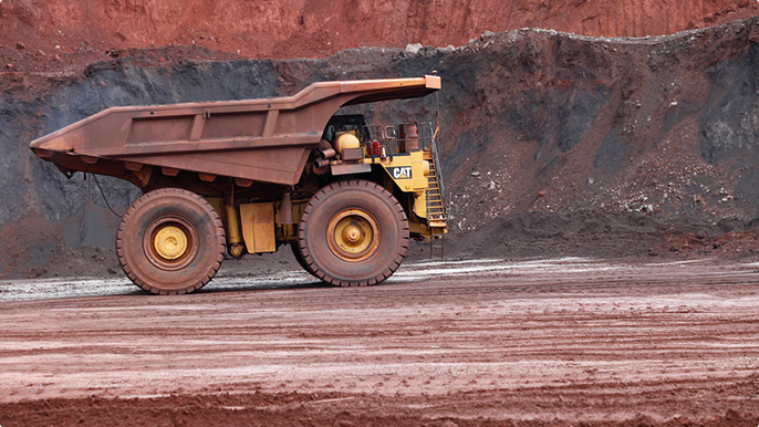 Reuse of waste materials from mining